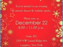 80 Standard Christmas Party Invitation Template Word Layouts with Christmas Party Invitation Template Word