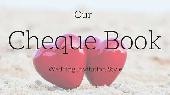80 Visiting Cheque Book Wedding Invitation Template for Ms Word with Cheque Book Wedding Invitation Template