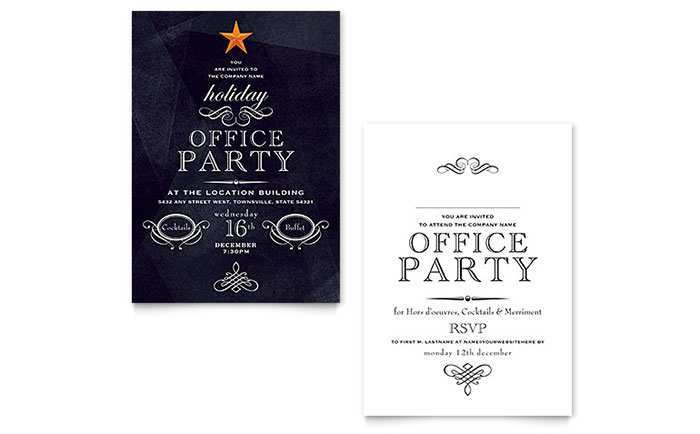 81 Format Office Party Invitation Template Editable With Stunning Design for Office Party Invitation Template Editable