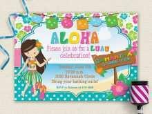 81 Printable Hawaiian Party Invitation Template PSD File with Hawaiian Party Invitation Template
