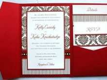 81 Report Wedding Invitation Templates Red And White Formating with Wedding Invitation Templates Red And White