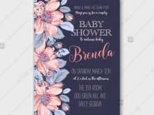 81 The Best Baby Shower Invitation Templates Vector Now for Baby Shower Invitation Templates Vector