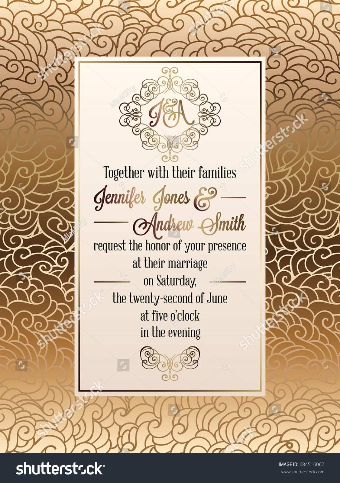 4 Creating Formal Invitation Card Design Template Now for Formal