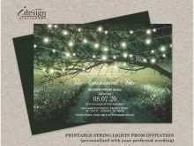 82 How To Create Enchanted Forest Wedding Invitation Template PSD File with Enchanted Forest Wedding Invitation Template