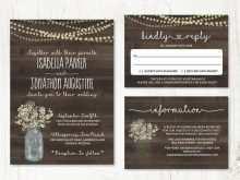 82 How To Create Wedding Invitation Template Mason Jar Layouts for Wedding Invitation Template Mason Jar