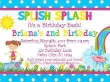 83 Customize Children S Birthday Invitation Template With Stunning Design by Children S Birthday Invitation Template