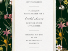 Design And Create A Formal Invitation Card Template