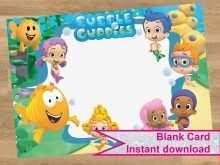 84 Creative Blank Bubble Guppies Invitation Template Photo for Blank Bubble Guppies Invitation Template