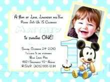 Little Man Birthday Invitation Template Free