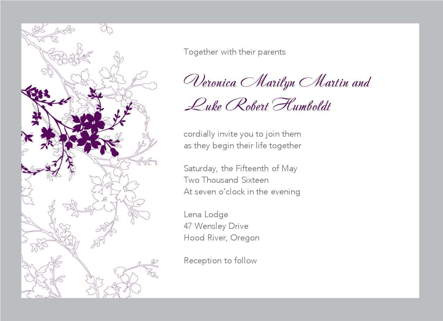 4 Format Party Invitation Template For Outlook Templates by Party