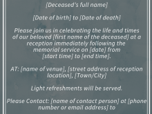 Reception Invitation Sms Format