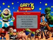 84 Online Toy Story Birthday Invitation Template For Free for Toy Story Birthday Invitation Template