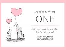 Birthday Invitation Template Video