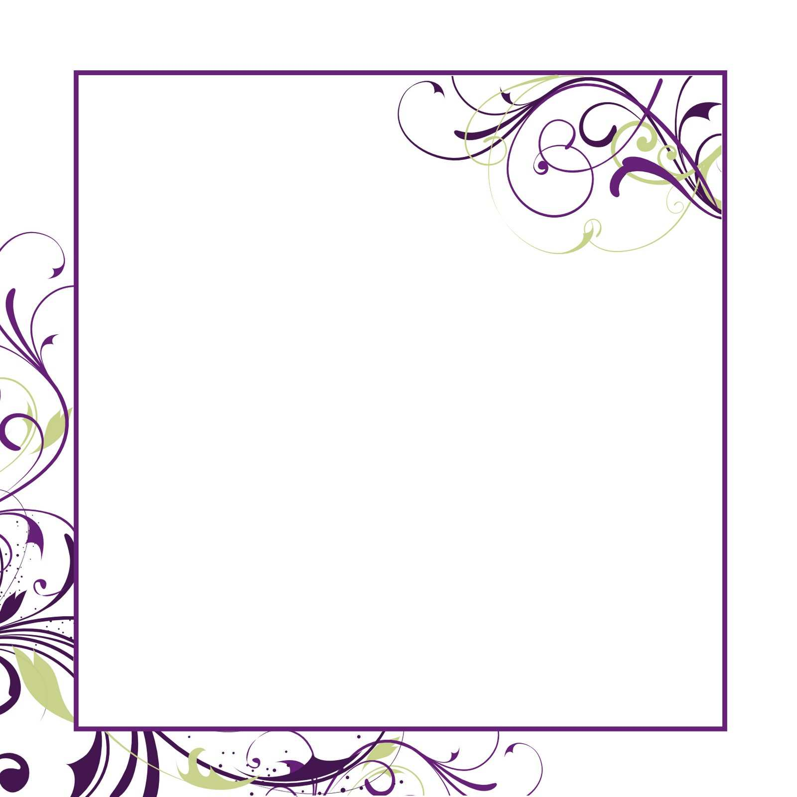 5 Blank Formal Invitation Template Psd Layouts by Formal