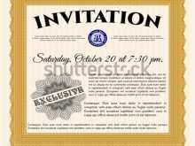 86 Creating Formal Invitation Template Vector Now for Formal Invitation Template Vector