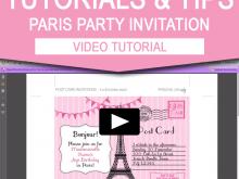 86 Format Birthday Invitation Template Video Now for Birthday Invitation Template Video