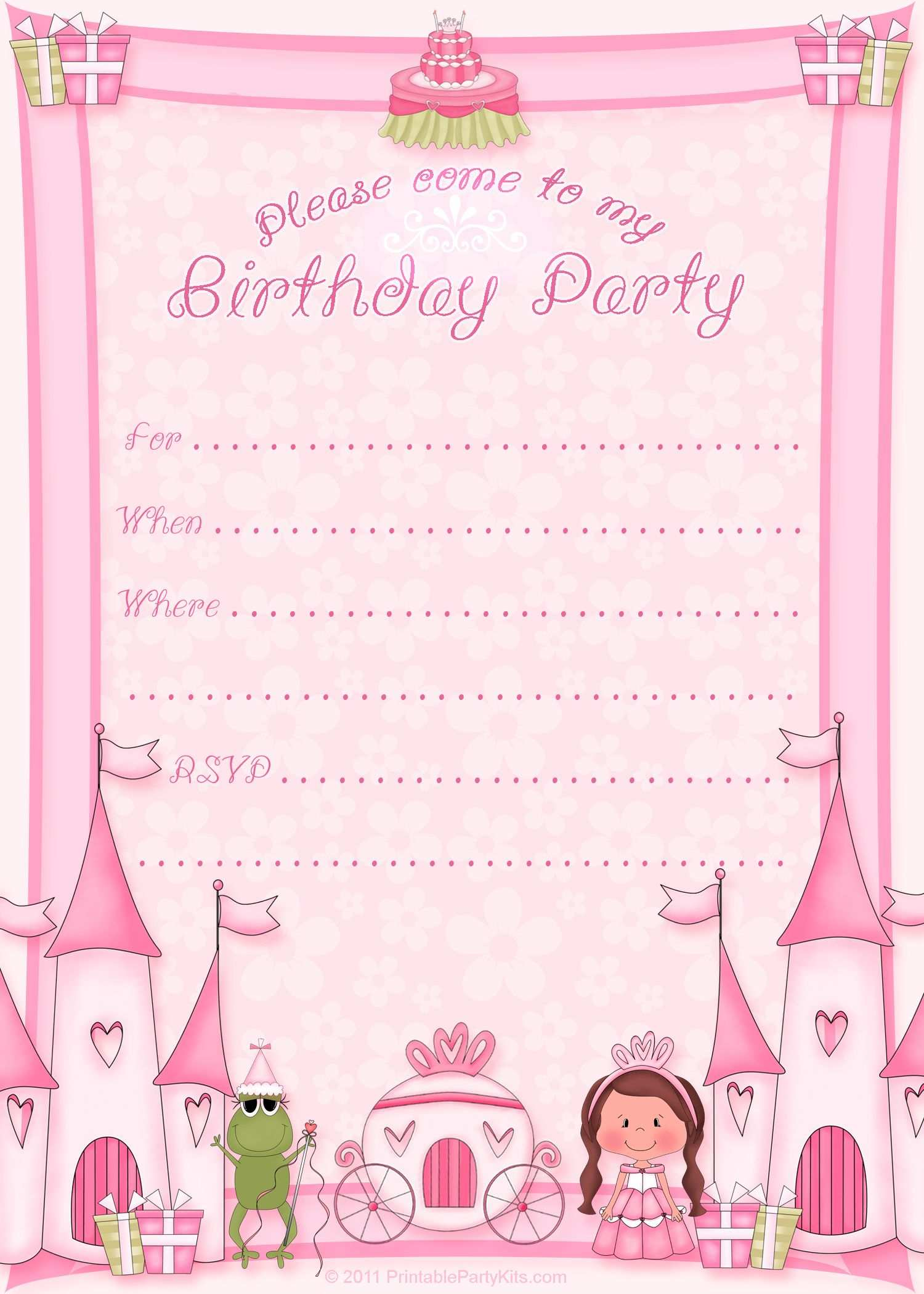 86 Free A5 Party Invitation Template for Ms Word by A5 Party Invitation Template