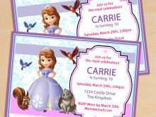 86 Free Sofia The First Invitation Blank Template For Free by Sofia The First Invitation Blank Template
