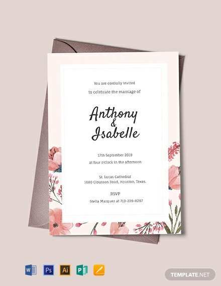 87 Create Wedding Invitation Blank Template Free Formating for Wedding Invitation Blank Template Free