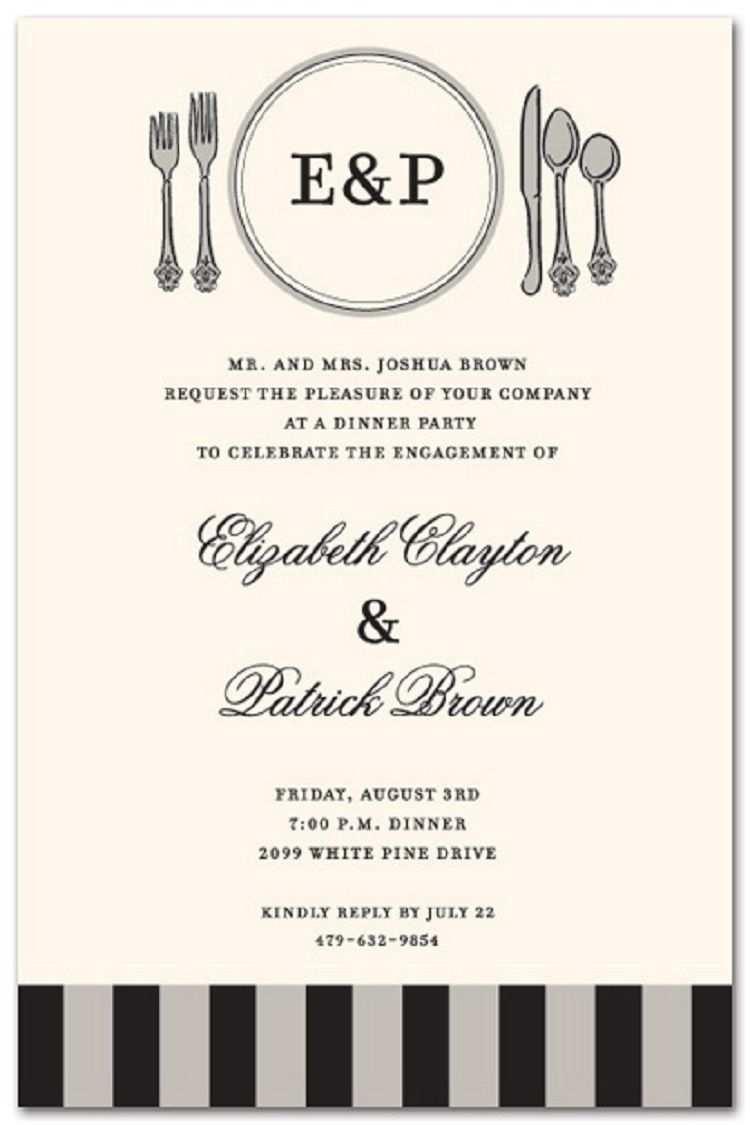 87 Creative Formal Dinner Invitation Template For Free for Formal Dinner  Invitation Template - Cards Design Templates