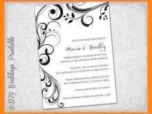 88 Report Wedding Invitation Template Download Word Photo by Wedding Invitation Template Download Word