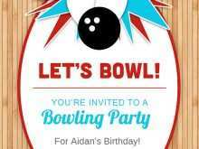 89 Customize Our Free Bowling Party Invitation Template in Word by Bowling Party Invitation Template