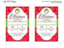 89 The Best Christmas Party Invitation Template Word For Free by Christmas Party Invitation Template Word