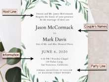 89 Visiting Wedding Invitation Template With Photo Now with Wedding Invitation Template With Photo