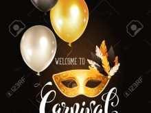90 Free Printable Carnival Invitation Template Vector Layouts with Carnival Invitation Template Vector