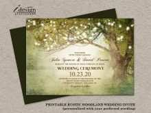 91 Customize Enchanted Forest Wedding Invitation Template For Free for Enchanted Forest Wedding Invitation Template