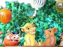 91 Customize Our Free Lion King Birthday Invitation Template Free Templates by Lion King Birthday Invitation Template Free