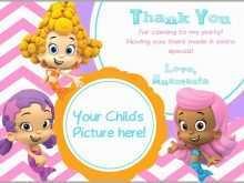 91 Printable Blank Bubble Guppies Invitation Template Now with Blank Bubble Guppies Invitation Template
