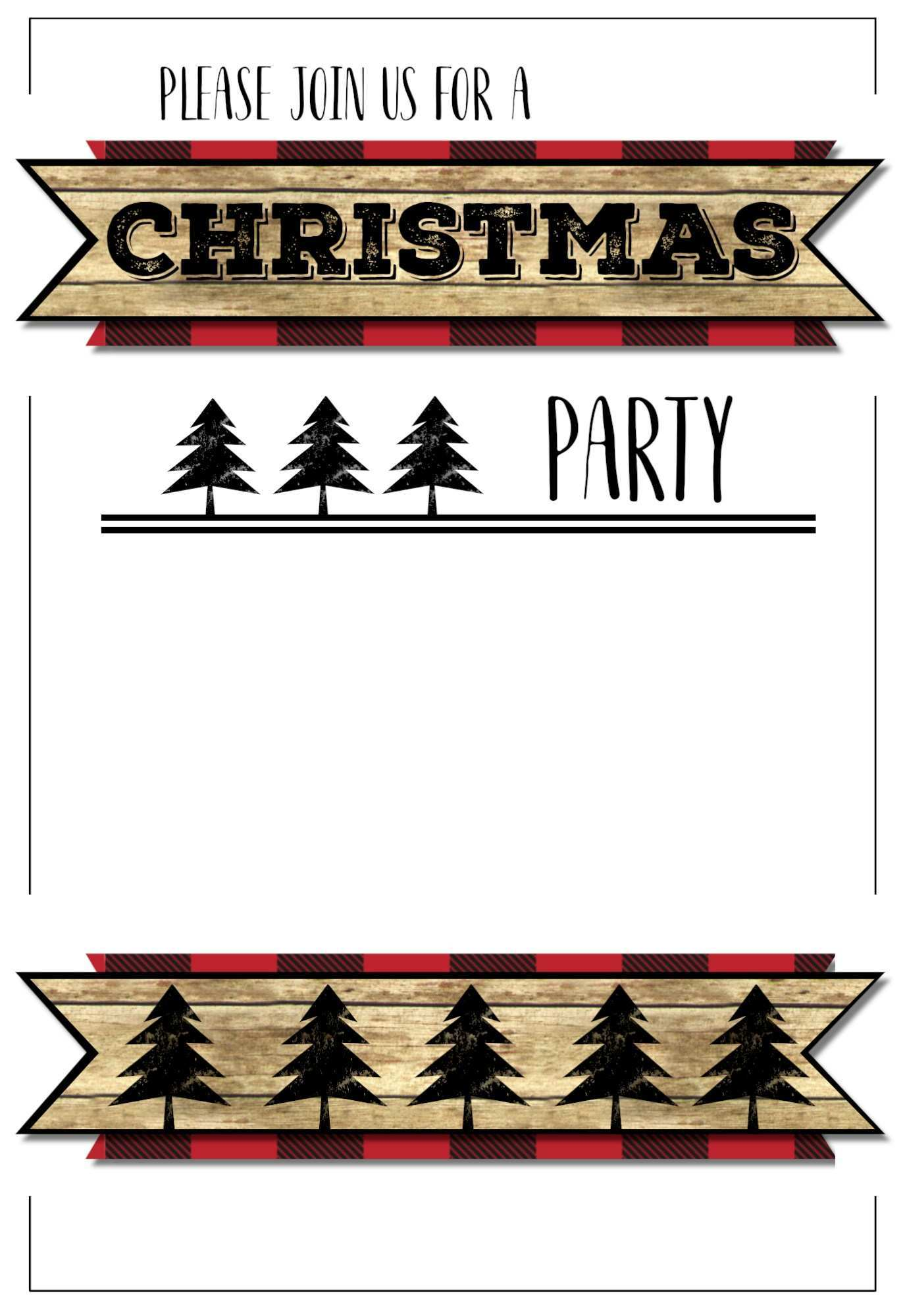 Ninja Party Invitation Template Free