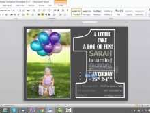 92 Format Word Birthday Invitation Template PSD File by Word Birthday Invitation Template