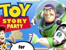 92 Free Toy Story Birthday Invitation Template Maker for Toy Story Birthday Invitation Template