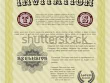 93 Customize Formal Invitation Template Vector Layouts by Formal Invitation Template Vector