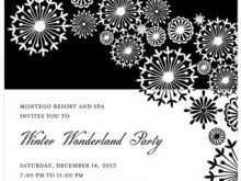 94 Customize Our Free Christmas Party Invitation Template Black And White Layouts by Christmas Party Invitation Template Black And White
