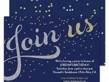 Party Invitation Template For Email