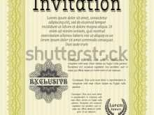 95 Creating Formal Invitation Template Vector Layouts by Formal Invitation Template Vector