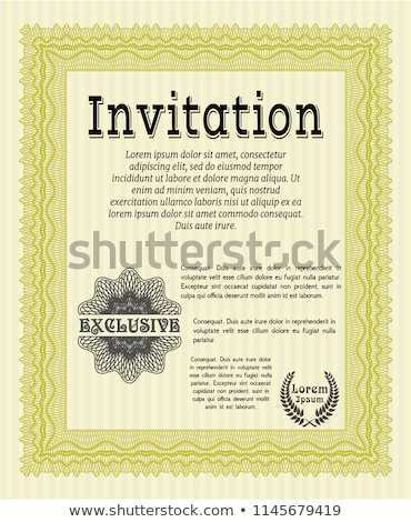 95 Creating Formal Invitation Template Vector Layouts by Formal Invitation Template Vector
