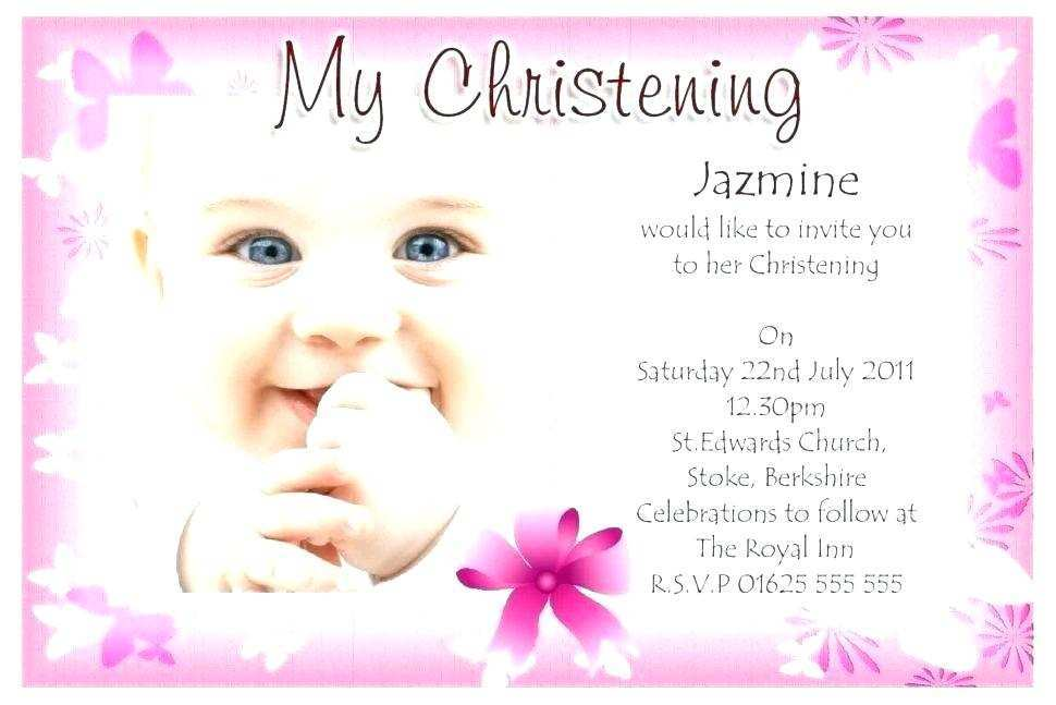 95 Report Christening Invitation Blank Template Pink for Ms Word with Christening Invitation Blank Template Pink