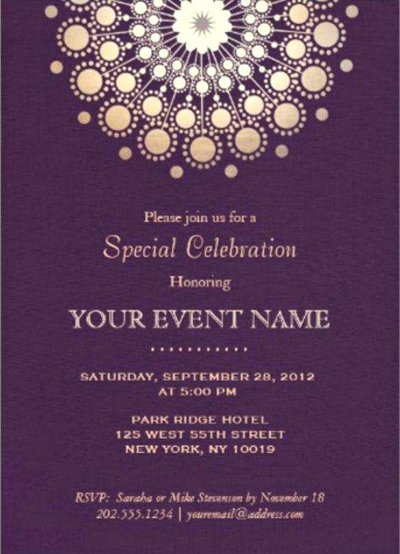 96 Customize Formal Invitation To An Event Template Maker with Formal Invitation To An Event Template