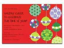 Open Office Birthday Invitation Template