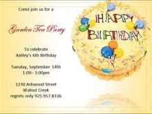 96 Online Birthday Invitation Template Pdf Maker with Birthday Invitation Template Pdf