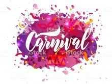 97 Online Carnival Invitation Template Vector With Stunning Design with Carnival Invitation Template Vector
