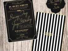 97 Standard Gatsby Wedding Invitation Template Free With Stunning Design for Gatsby Wedding Invitation Template Free