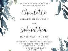 97 The Best Wedding Invitation Template With Photo for Ms Word with Wedding Invitation Template With Photo