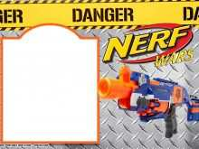 97 Visiting Free Nerf Birthday Party Invitation Template For Free by Free Nerf Birthday Party Invitation Template