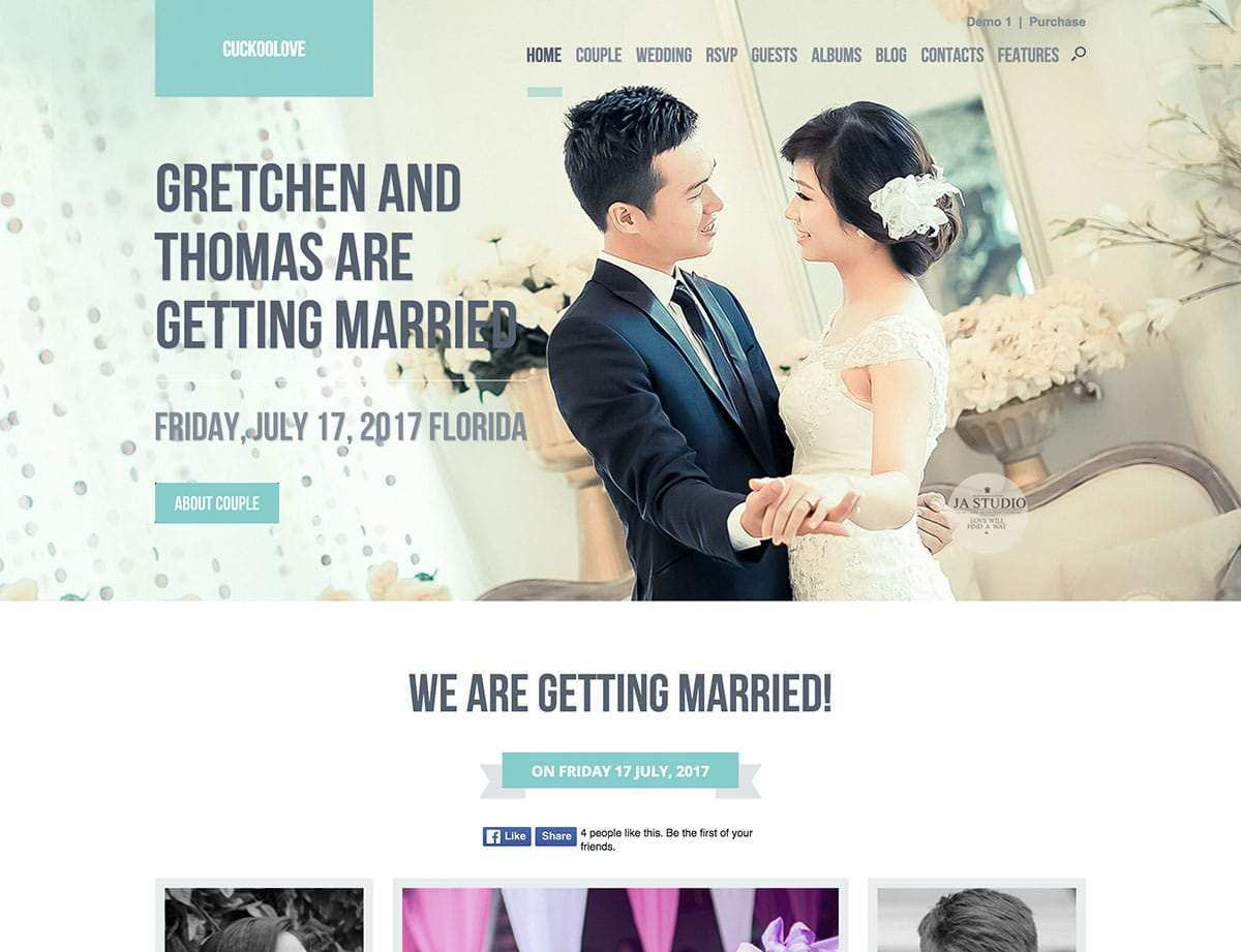 3 Adding One Page Responsive Wedding Invitation Template Now by
