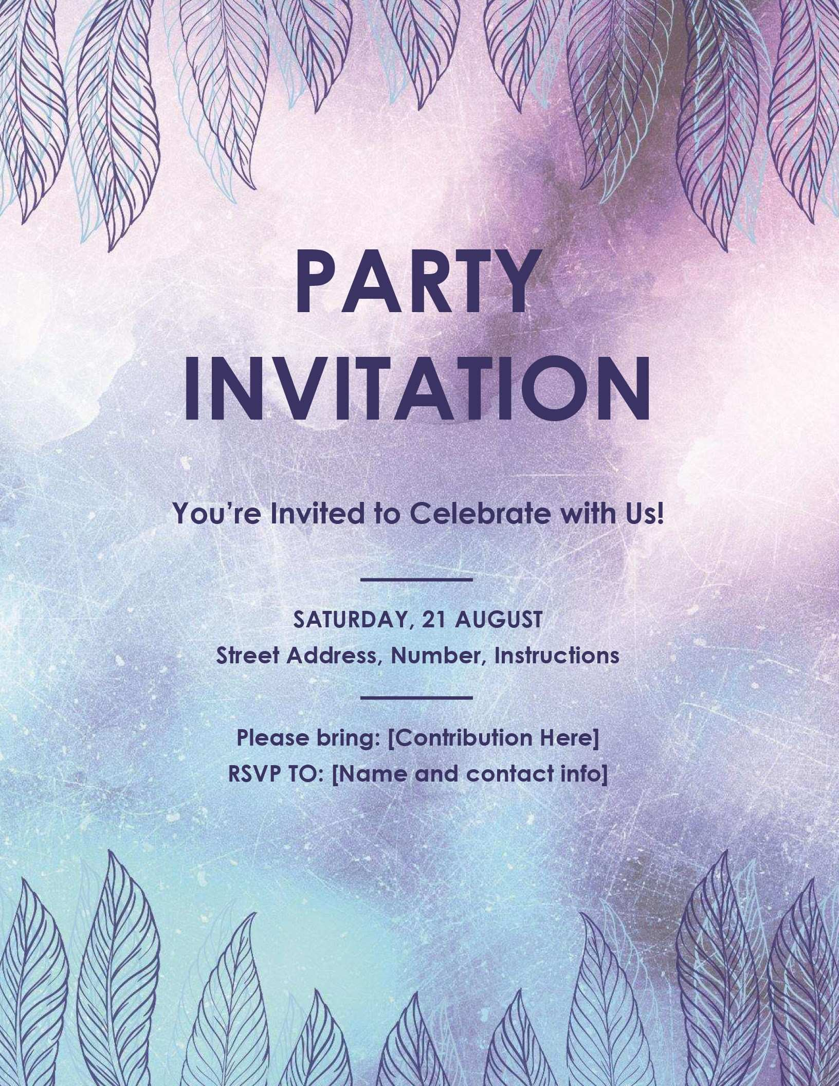 98 Free Office Party Invitation Template Editable Layouts with Office Party Invitation Template Editable